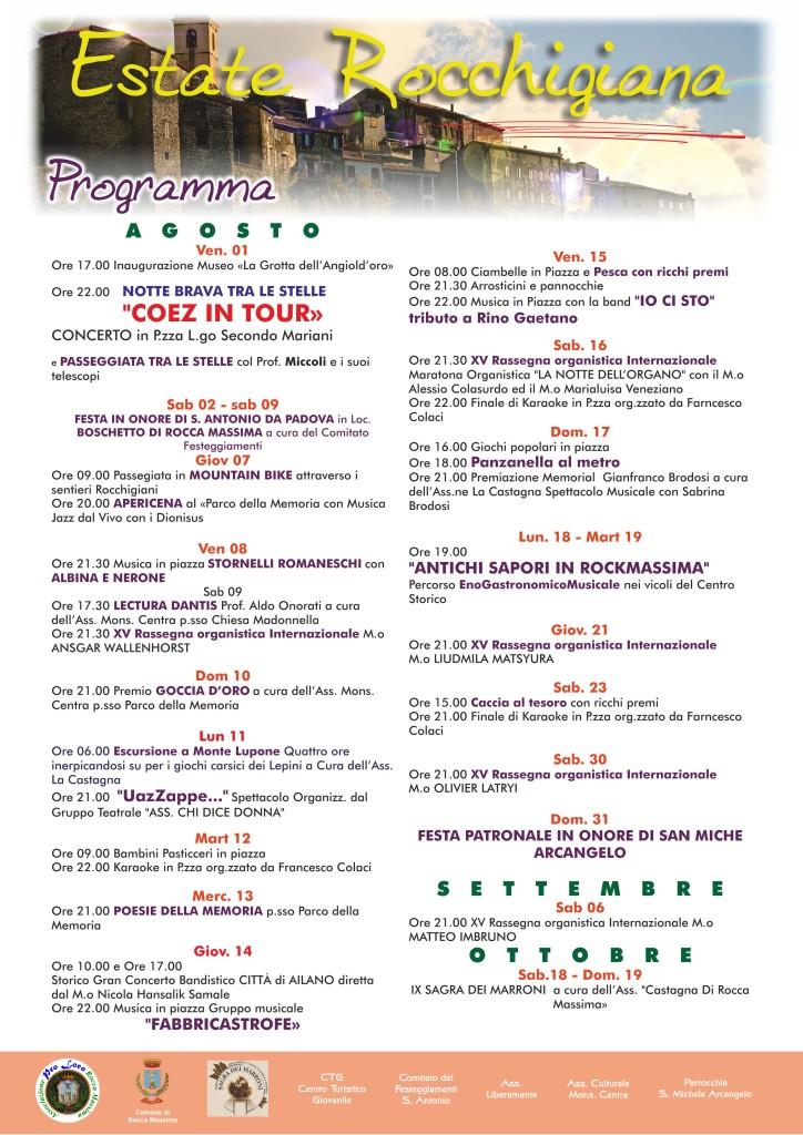 Pro Loco Programma 2014