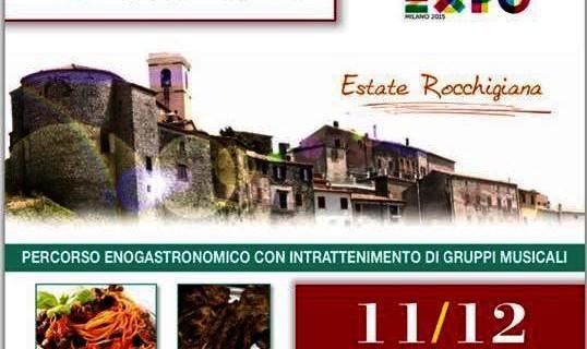 """EXPO Rocca Massima – """"Sagra Antichi Sapori"""" – 11 e 12 luglio"""