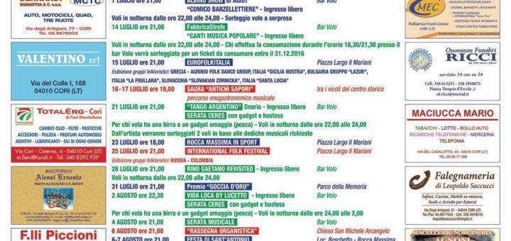Estate 2016 Rocca Massima